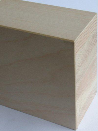 画像2: リフォーム框(突板貼) カバ 無塗装 1950×165(162)×105(102)