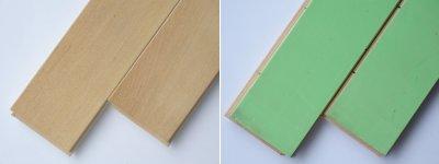 画像1: カバ無垢フローリング1P(OPC)直貼タイプ床暖房対応・無塗装606×75×15
