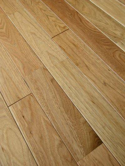 画像2: ウォールナット(くるみ)無垢フローリング床暖房用UNI・ウレタン塗装1818×75×15
