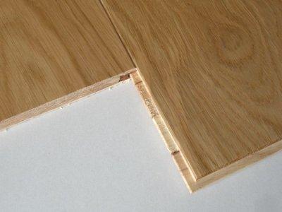 画像1: ホワイトオーク三層フローリング ナチュラルグレード 床暖房対応 ウレタン・クリア塗装 1818(MIX)×138×14
