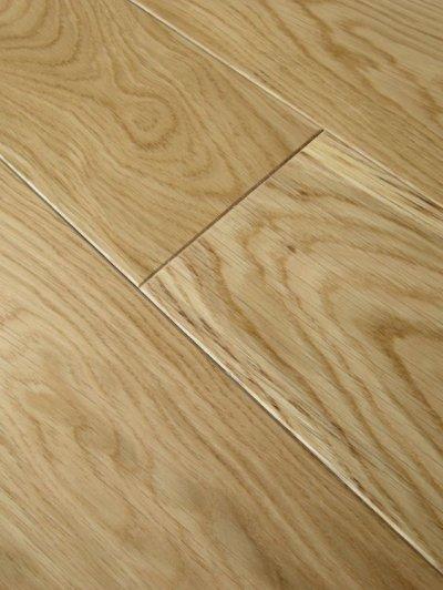 画像2: ホワイトオーク三層フローリング ナチュラルグレード 床暖房対応 ウレタン・クリア塗装 1818(MIX)×138×14