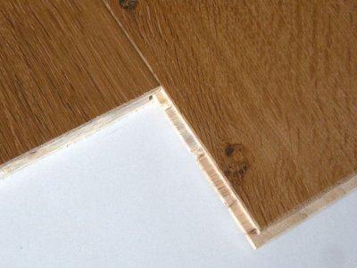 画像1: ホワイトオーク三層フローリング ナチュラルグレード 床暖房対応 自然塗料塗装 1818(MIX)×138×14