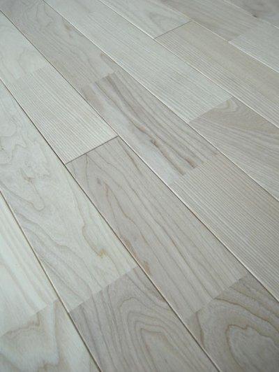 画像2: ホワイトアッシュ無垢フローリングUNI・Sグレード無塗装1820×90×15