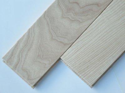 画像1: ホワイトアッシュ無垢フローリングUNI・Sグレード無塗装1820×90×15