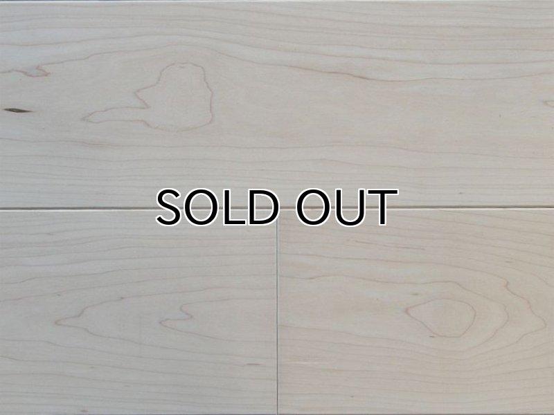 画像1: ハードメープル三層フローリング Sグレード 床暖房対応 無塗装 1818(MIX)×138×14 (1)