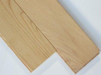 画像1: ケヤキ(日本けやき)無垢フローリング・UNI・無塗装 1820×90×15