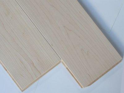 画像1: ハードメープル三層フローリング Sグレード 床暖房対応 無塗装 1818(MIX)×138×14