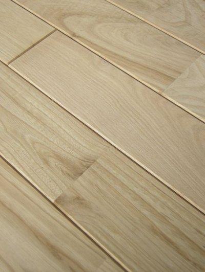 画像1: 栗無垢フローリング床暖房用UNI・無塗装1820×75×15