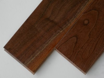 画像1: アメリカンブラックウォールナット無垢フローリングUNI・ウレタン塗装1820×90×15