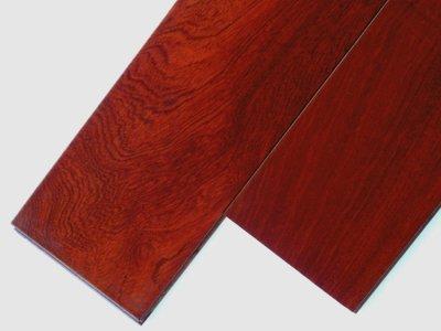 画像1: カリン幅広無垢フローリングUNI・ウレタン塗装1820×120×15