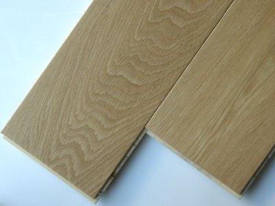 画像1: ナラ三層フローリングSグレード 低温床暖房対応 自然塗料塗装1818×150×15