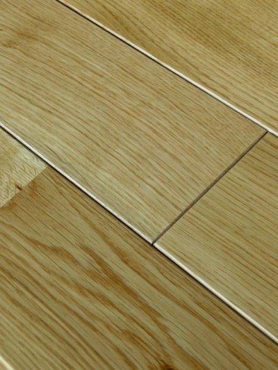 画像2: ナラ無垢フローリング床暖房用UNI・Sグレード・ウレタン塗装1818×90×15