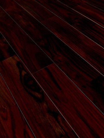 画像2: ローズウッド(シタン)無垢フローリングUNI・ウレタン塗装1820×90×15