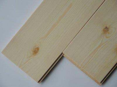 画像1: レッドパイン 無垢フローリング1P(OPC)無塗装1820×135×15