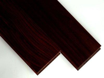 画像1: ローズウッド(シタン)無垢フローリングUNI・ウレタン塗装1820×90×15