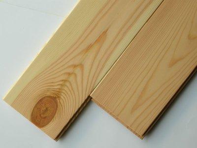 画像2: レッドパイン 無垢フローリング1P(OPC)床暖房用・ウレタン(マット)塗装1818×110×15