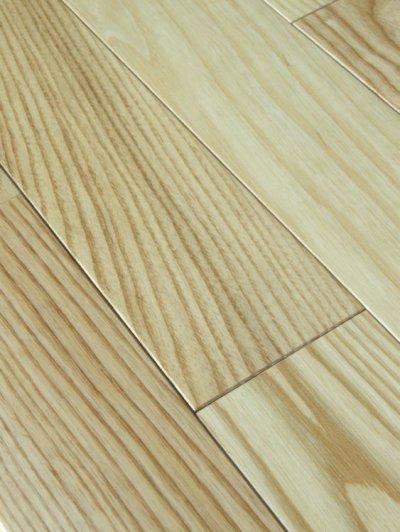 画像2: ホワイトアッシュ無垢フローリング床暖房用UNI・ウレタン塗装1820×90×15