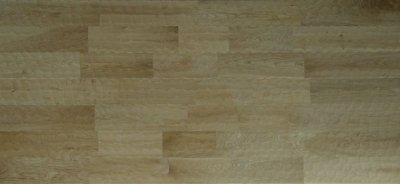 画像2: ナラ幅広無垢フローリングUNI・Sグレード 名栗加工 無塗装 1820×120×15