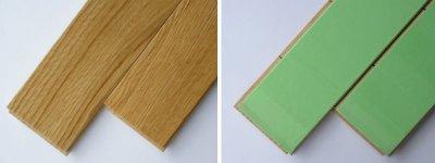 画像1: ナラ無垢フローリング1P(OPC)直貼タイプ床暖房対応・ウレタン塗装606×75×15