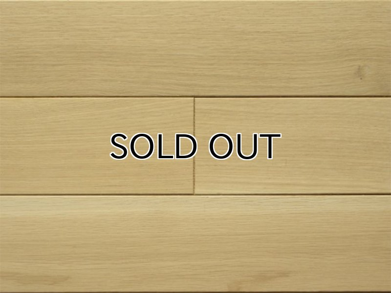 画像1: ナラ無垢フローリング1P(OPC)直貼タイプ床暖房対応・無塗装606×75×15 (1)