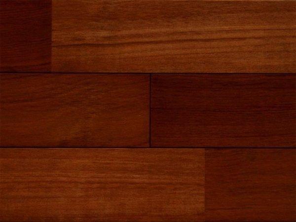画像1: ミャンマーチーク無垢フローリング12ミリ厚 UNI・自然塗料塗装1820×90×12 (1)