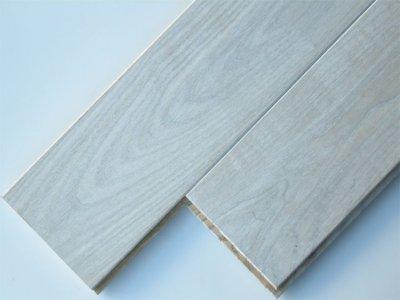 画像1: アッシュホワイトオイル無垢フローリングUNI・Sグレード1820×90×15