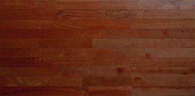 画像3: 東北カバ無垢フローリングUNI・【節有】アンティーク・チーク色 1820×90×15