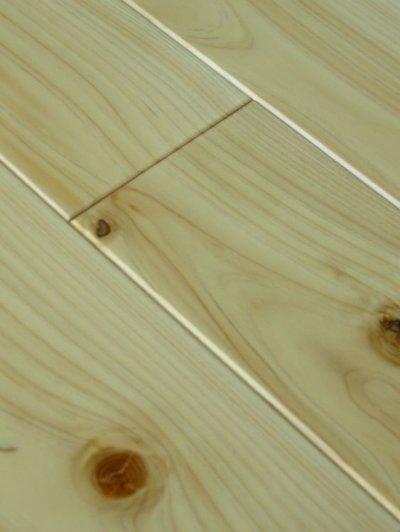画像2: 桧無垢フローリング床暖房用 節有 ウレタン塗装クリア 1818×105×15
