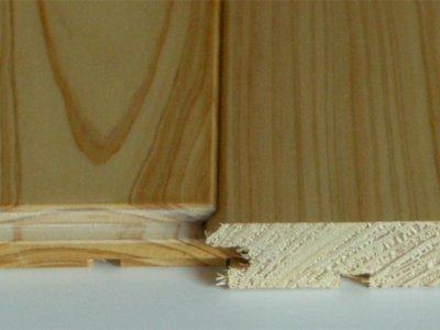 画像3: 桧無垢フローリング床暖房用 上小節  ウレタン塗装クリア 1818×105×15