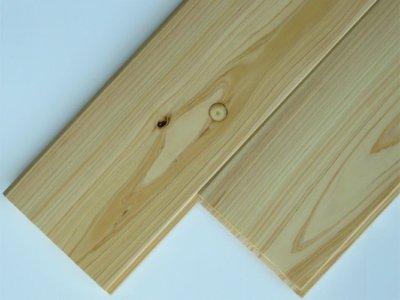 画像1: 桧無垢フローリング床暖房用 上小節  ウレタン塗装クリア 1818×105×15