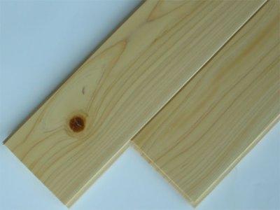 画像1: 桧無垢フローリング床暖房用 節有 ウレタン塗装クリア 1818×105×15