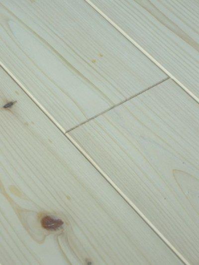 画像2: 桧無垢フローリング床暖房用 節有 無塗装 1818×105×15