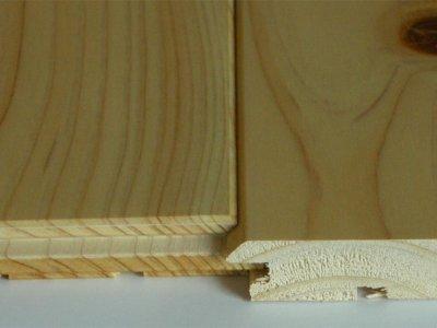 画像3: 桧無垢フローリング床暖房用 節有 ウレタン塗装クリア 1818×105×15
