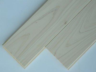 画像1: 桧無垢フローリング床暖房用 上小節  無塗装 1818×105×15