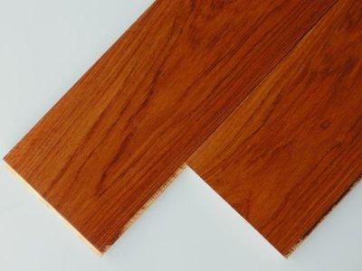 画像1: 本カリン複合フローリング 床暖対応 ウレタン塗装クリア 1818×145×15