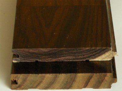 画像3: ローズウッド(シタン)無垢フローリング12ミリ厚・UNI・ウレタン塗装1820×90×12