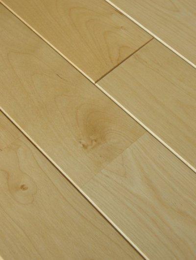 画像2: カバ無垢フローリング床暖房用UNI・ウレタン塗装1820×75×15