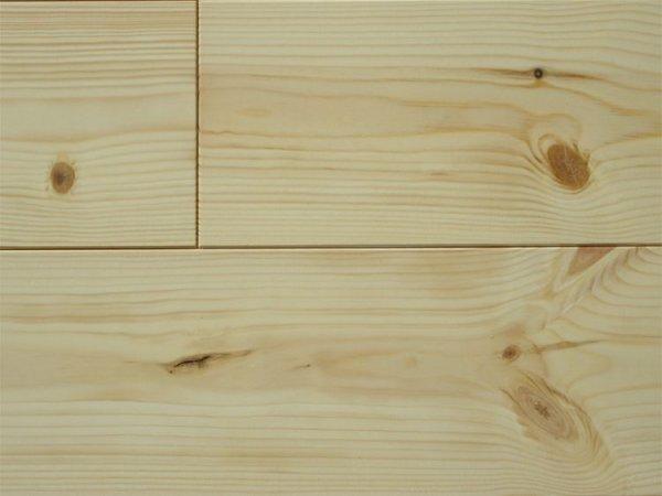 画像1: レッドパイン 無垢フローリング12ミリOPC無塗装1950×113×12 (1)