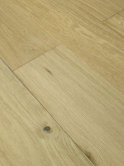 画像2: オーク複合フローリングNグレード・ブラッシング(うずくり) 床暖房対応 無塗装 1820×150×15
