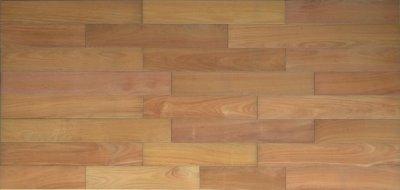 画像3: 複合フローリング マホガニー 床暖房対応 自然塗料塗装 乱尺×125×14