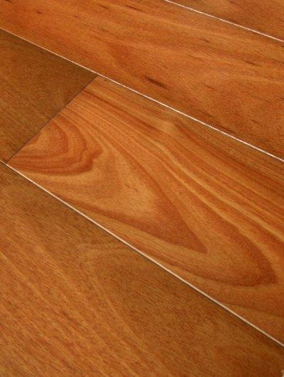 画像2: 複合フローリング マホガニー 床暖房対応 ウレタン塗装 乱尺×125×14