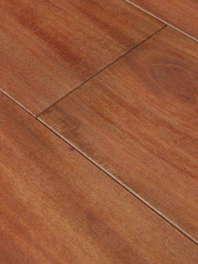 画像2: 複合フローリング マホガニー 床暖房対応 自然塗料塗装 乱尺×125×14