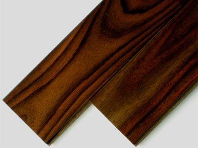 画像1: ローズウッド(シタン)無垢フローリング床暖房用・UNI・ウレタン塗装1818×75×15