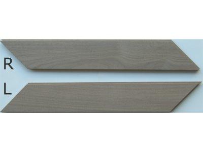 画像2: アメリカンブラックウォールナット無垢フローリング・フレンチヘリンボーン貼り用・無塗装 540×90×15