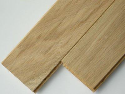 画像1: ナラ無垢フローリング床暖房用UNI・Sグレード・無塗装1818×90×15
