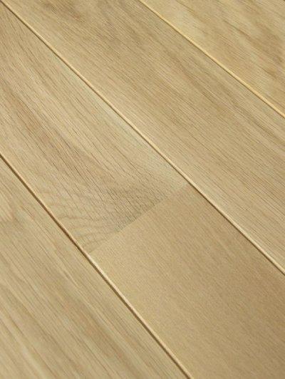 画像2: ナラ無垢フローリング床暖房用UNI・Sグレード・無塗装1818×90×15