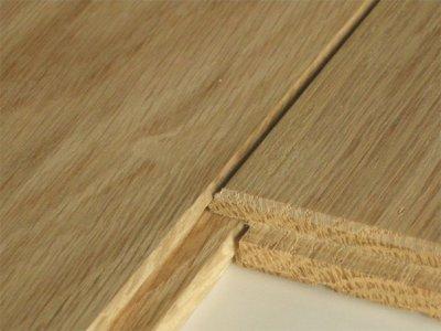 画像3: ナラ無垢フローリング床暖房用UNI・Sグレード・無塗装1818×90×15