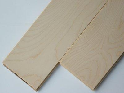 画像1: 複合フローリング ExEfloor カバ(バーチ) 床暖房対応 無塗装 909×120×12