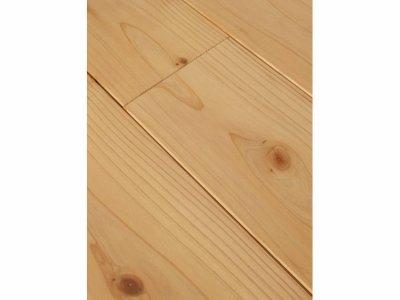 画像2: 杉(飫肥杉)無垢フローリング床暖房対応・Nグレード(節有) 無塗装1920×105×15