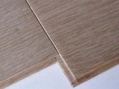 画像3: ホワイトオーク・パネリング無塗装 Aグレード 1820×90×8 (3.276m2)